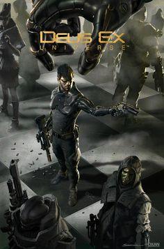 ArtStation - Children's Crusade Issue 5 Cover - Deus Ex Mankind Divided, Yohann Schepacz OXAN STUDIO