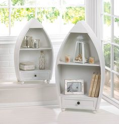 Rowboat Curio Cabinets ~ $249.95 at yoyoshometique.com
