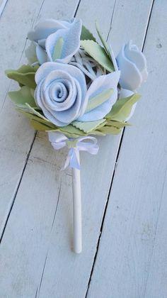 Bouquet con fiori in fommy