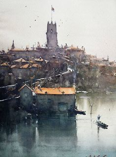 Joseph Zbukvic watercolor #watercolor jd