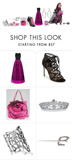 """Briar Beauty,Legacy Day"" by phoenix-fox ❤ liked on Polyvore featuring Andrew Gn, Pour La Victoire, Valentino, Bling Jewelry, Pearls Before Swine and Stephen Webster"