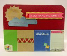 ~ Marilyn's Crafts ~: SBC June Card Kit