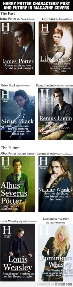 Harry Potter Characters...