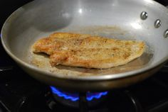 Nibble Me This: Chicken Cutlets with Sherry Cream Sauce