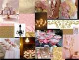 Image detail for -Tari's blog: pink and gold wedding
