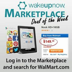 $$$  $149+CASH BACK  Join the Revolution.  SAVE MONEY. MANAGE MONEY. MAKE MONEY  #wakeupnow #wun #teamwakeuptakeover #walmart #nook #nookhd $$$  http://tinyurl.com/bpxrwqm
