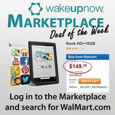 $$$  $149+CASH BACK  Join the Revolution.  SAVE MONEY. MANAGE MONEY. MAKE MONEY  #wakeupnow #wun #teamwakeuptakeover #walmart #nook #nookhd $$$  http://jcharles05.wakeupnow.com