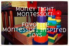 Molly Makes Do: Money Tight Montessori: Montessori Inspired Toys