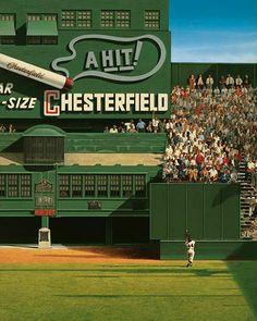 Willie Mays by artist Bill Purdom
