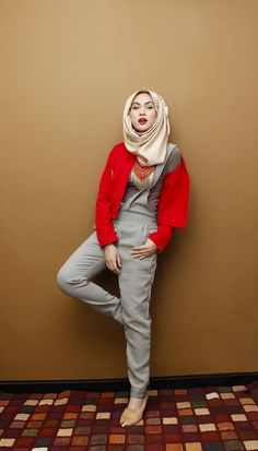 A GIRL WITH RED JACKET