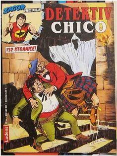 Zagor - Detektiv Chico ( Ceo strip )