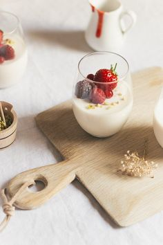 This is the best classic panna cotta recipe. It's rich and silky and makes a perfectly light treat that takes only minutes to make! Gourmet Recipes, Dessert Recipes, Cooking Recipes, Gourmet Foods, Healthy Recipes, Berry Sauce, Bite Size Desserts, Italian Desserts, Eat Dessert First