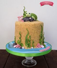 Turtletastic - Cake by The Custom Cakery