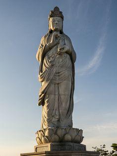 Haesugwaneumsang (Bodhisattva of Mercy)-- Naksansa Temple - Gangwon Province - Yangyang - Sokcho - South Korea
