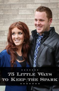 The Freckled Fox : 75 Little Ways to Keep the Spark. This is the BEST list Marriage Relationship, Marriage And Family, Marriage Tips, Happy Marriage, Godly Marriage, Healthy Marriage, Relationship Building, Successful Marriage, Healthy Relationships