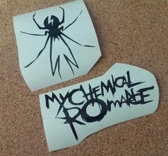 My Chemical Romance Decals http://www.facebook.com/thequeenbeechic