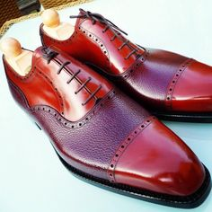 http://chicerman.com ascotshoes: Our vocabulary isnt extensive to best describe this living and breathing beauty. Personal MTO Made To Order piece from our French collector to blend with his profession. All his pieces consist of Red Bordeaux or Oxblood calf. I Thanks for following Ascot Shoes Instagram page. Were an online shoe shop based in the UK. Please email Sammy for full consultation on Sizing Fitting Made To Order MTO Stock & Prices. I EMAIL- Ascotshoes@outlook.com…