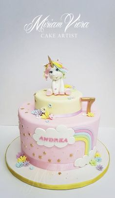 My Unicorn Cake II by Miriam Viera