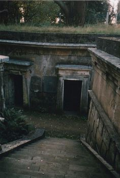 Highgate Cemetery in London... I'd want to be buried here
