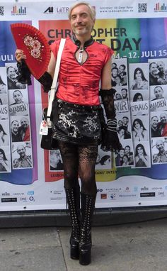 CSD munich 2015 - model: ehmkay - support your local lgbti community