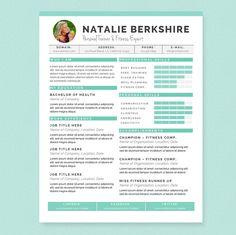 JannaLynnCreative - Feminine & Professional Microsoft Word Resume Templates & Design Resources