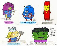 Mr. Toast #avengers