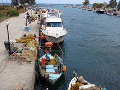 #Agia_Galini, #Rethymno, #Crete, #pass2greece Rethymno Crete, Greek Mythology, Capital City, Boat, Gnomes, Dinghy, Boats