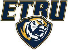 Tigers, East Texas Baptist University (Marshall, Texas) Div III, American Southwest Conference #Tigers #MarshallTexas #NCAA (L9675)