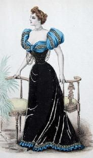 1893 fashion plate.....how fabulous is this!