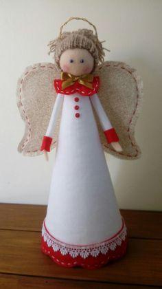 Christmas Hat, Christmas Ornaments, Christmas Angels, Christmas Projects, Christmas Themes, Christmas Decorations, Xmas, Holiday Decor, Crochet Angels