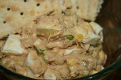 Tuna and Egg Salad- so good, I omit the hot sauce and make some with and without pickles, since we are a house divided on that. Plus adding some cubed sharp cheddar to it is delicious, especially if you make it into a tuna melt!! Yum!!