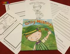 FREEBIE printables for Silly McGilly