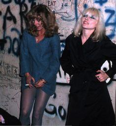 HELLYESS! Blondie & Pamela Des Barres