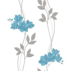 Superfresco Easy - Serene Aqua/Turquoise Wallpaper - 32-413 - Home Depot Canada