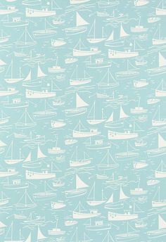 Sail Away fabric by Harlequin