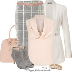 Gray Shoes by maggie-jackson-carvalho on Polyvore featuring Hobbs, Balmain, Elizabeth and James, Nine West, DKNY, Principles by Ben de Lisi, Claudia Bradby and Topshop