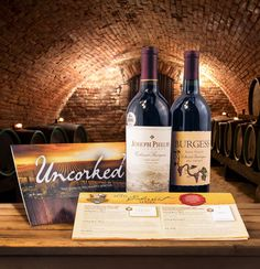 Experience the ultimate reward in fine viticulture with Napa Valley's most prestigious Cabernets aged 8-12 years.
