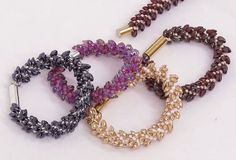 Beaded Kumihimo Bracelet Tutorial