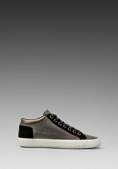 334cb44d823 Luxury Rebel Etta Sneaker in Black Pewter Revolve Clothing