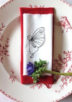 """Stickdatei  """" SchmetterlingsFee"""" von  """"FeinKram""""  hier gibt es die schönsten Scherenschnitt StickDateien ;-))) auf DaWanda.com"""