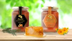 Honey Label, Behance, Packaging, Gallery, Check, Projects, Log Projects, Wrapping