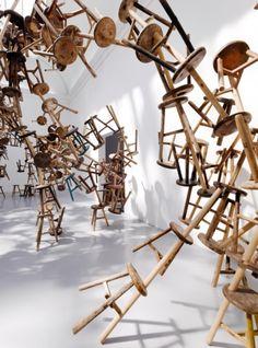 Ai Weiwei Bang Installation at Venice Biennale 2013 http://mymagicalattic.blogspot.com.tr/2013/06/ai-weiwei-s-bang-installation-at-venice.html