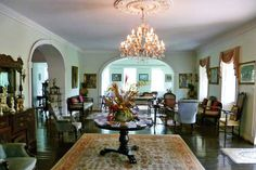 The restored Sunbury Plantation, Barbados | Weather2Travel.com #travel #Caribbean #barbados