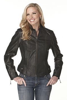 Rusty Spur Couture Cripple Creek Zipper Trimmed Jacket - LL88440, ,