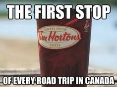 The first stop of every road trip.