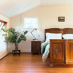 Beadboard in the bedroom