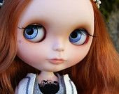 Bling it On Bling Bling Party Fur RBL+ Takara Blythe OOAK Blythe Doll by Kaleidoscope Kustoms