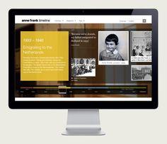 Anne Frank Timeline on Behance