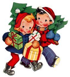 Vintage Children's Christmas #9 | von lovdolls