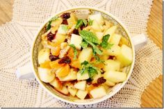 Raw, Vegan Charoset Recipe for Passover | Choosing Raw – vegan and raw recipes